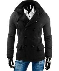 Pánský kabát ROCCO - černý