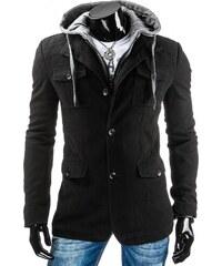 Pánský kabát BRUNO - černý