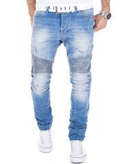 Pánské světlé slim džíny REDBRIDGE