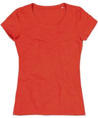 Dámské triko s krátkým rukávem Lisa STARS by Stedman