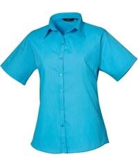 Dámská košile s krátkým rukávem Premier Workwear PR302