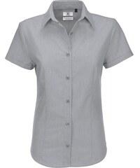 Dámská košile s krátkým rukávem B&C Oxford