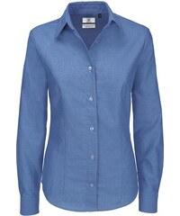 5264d086be3 Dámská popelínová košile s dlouhým rukávem Oxford B C