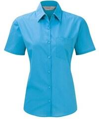 Dámská košile s krátkým rukávem a kapsou Russell collection