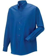Russell Collection Pánská košile s dlouhým rukávem Oxford Russell europe LS
