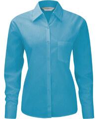 Russell Collection Dámská košile s dlouhým rukávem Russell Europe Long Sleeve Poplin Blouse