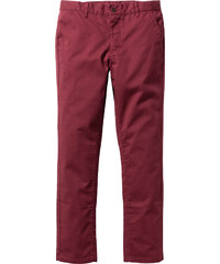 RAINBOW Hose Slim Fit Straight in rot für Herren von bonprix