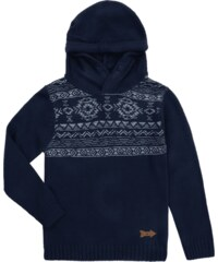Review for Kids Pullover mit Kapuze und Ethno-Print