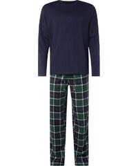 Christian Berg Men Pyjama aus reiner Baumwolle - lang