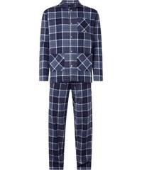 Christian Berg Men Pyjama aus Flanell - lang