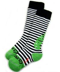 dětské termo ponožky SJP - zelené, LASTING, velikost 24-27