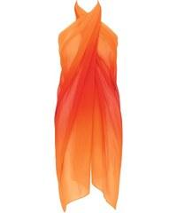 Pareo sloggi swim Lava Passion Pareo - Triumph oranžová kombinovaná s leopardím vzorem (M018), 1