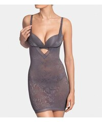 Tvarující body Sculpting Sensation Bodydress - Triumph šedá (6652), XL