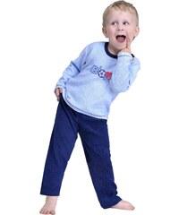 Froté chlapecké pyžamo Boys modré 116