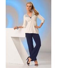 Dámské pyžamo Donna Rosalia PJ granátová (modrá) L
