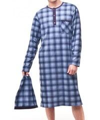 Noční košile Cornette 110 kr/r pánská M-XXL jeans, XXL