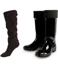 Soxo 4505 Ponožky do gumáků, 36-39 fialová