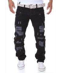 EU Pánské černé džíny