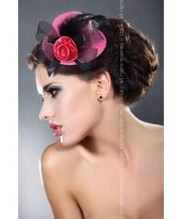 LivCo CORSETTI FASHION Ozdoba Mini top Hat 15 růžová Univerzální