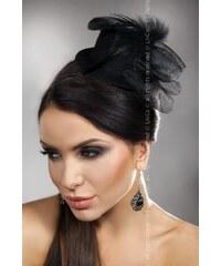 LivCo CORSETTI FASHION Ozdoba Mini top Hat 18 černá Univerzální