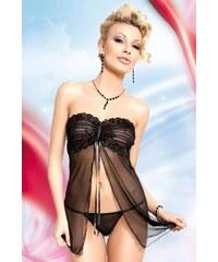 SOFTLINE COLLECTION Erotická souprava Tanya black černá M/L