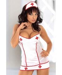 SOFTLINE COLLECTION Dámský kostým Tina bílá M