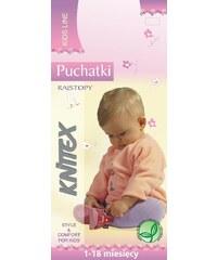 Punčochové kalhoty Knittex Puchatki mix barev, 68-74