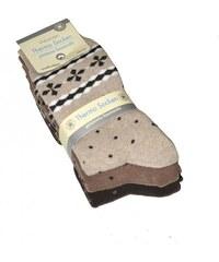 Ponožky Wik Thermo Woman art.5301 A'3 mix barev, 39-42