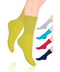 Ponožky Steven Fitness dámské art.127 černá, 35-37