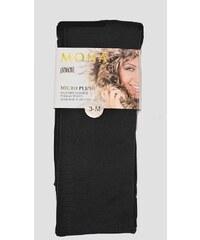 Punčochové kalhoty Mona Micro Plush 200 den nero/černý, 3-M