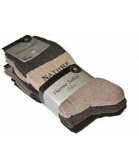 Ponožky Wik Thermo Socken 7018 A'3 mix barev, 43-46