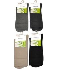Ponožky Bratex Bambus 0174 ocelový, 44-46