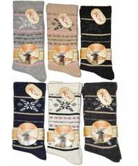 Ponožky RiSocks Cashmere art. 5692389 černá, 37-41