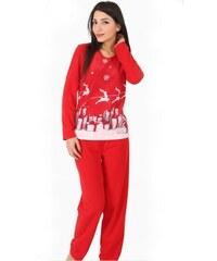 Vánoční Dámské pyžamo Viennetta Winter M