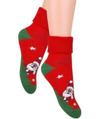 Ponožky Steven 096, 26-28 bílá
