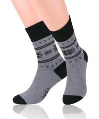 Ponožky Steven 122, 41-43 světle šedá