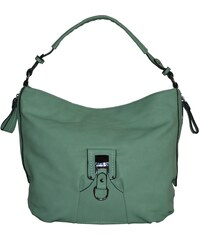 Jedinečná zelenkavá dámská kabelka univerzální
