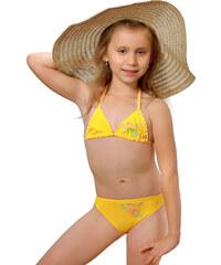 Plavky dívčí Julka III žluté 140