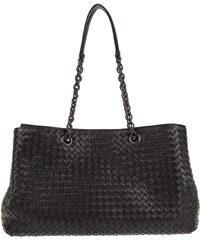 Bottega Veneta Sacs portés main, Tote Bag Chain Intrecciato Nero en noir