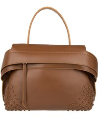 Tod's Sacs portés main, Wave Medium Bag W Strap Bark en marron