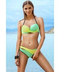 Dvoudílné plavky Ewlon Luna, 38 zelená