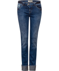 Street One Loose Fit Denim Mika - natural blue wash bleached, Damen