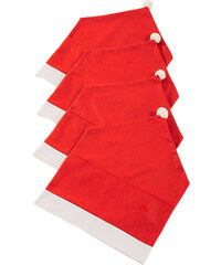 bpc living Stuhlhusse Santa(4er-Pack) in rot von bonprix