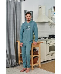 Pánské pyžamo Regina 490 M-XL dł/r mix, M
