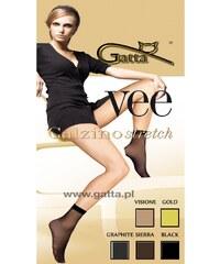 Gatta Dámské ponožky Vee gold zlatá Univerzální