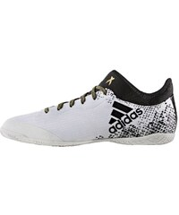 adidas Performance X 16.3 COURT Fußballschuh Halle white/core black/gold metallic