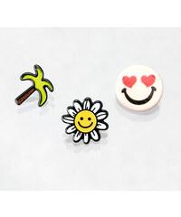 Brože sada Smile 3 ks akrylové