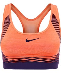 Nike Performance PRO HYPER Soutiengorge de sport turf orange/purple dynasty