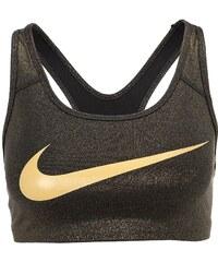 Nike Performance PRO CLASSIC Soutiengorge de sport black/metallic gold