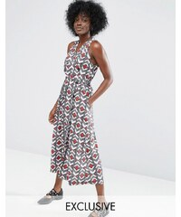 ASOS Made In Kenya - Robe cache-cœur - Multi